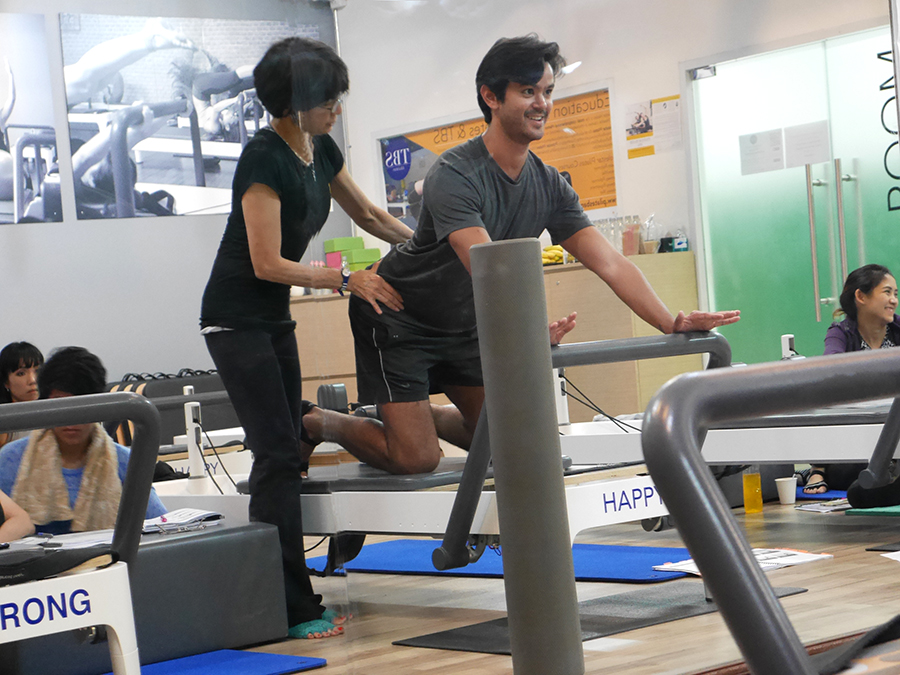 Pilates instructor training Bangkok 20
