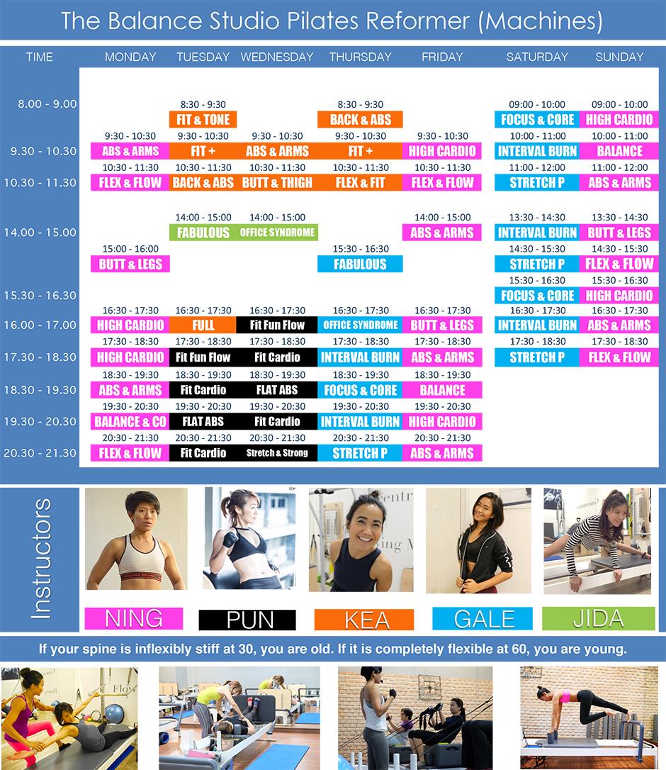 Pilates Private Class Bangkok: Pilates Bangkok The Balance Studio May 2016