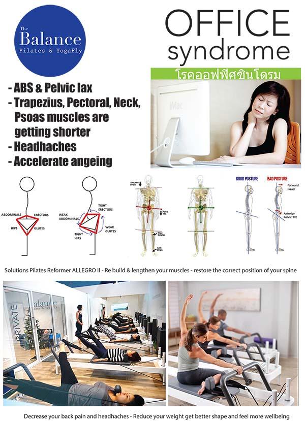 office syndrome pilates bangkok
