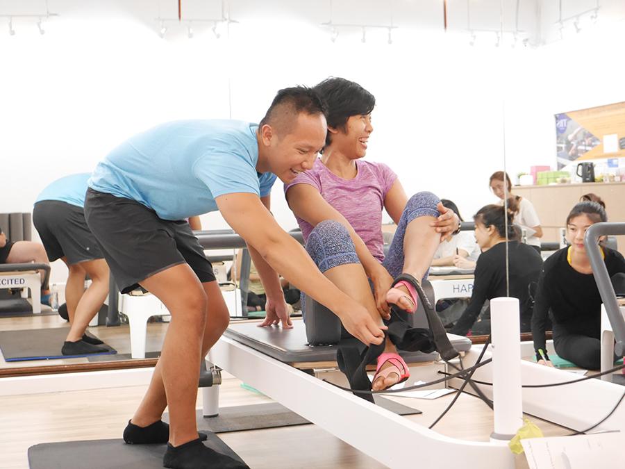 Polestar Pilates Instructor training Bangkok 20