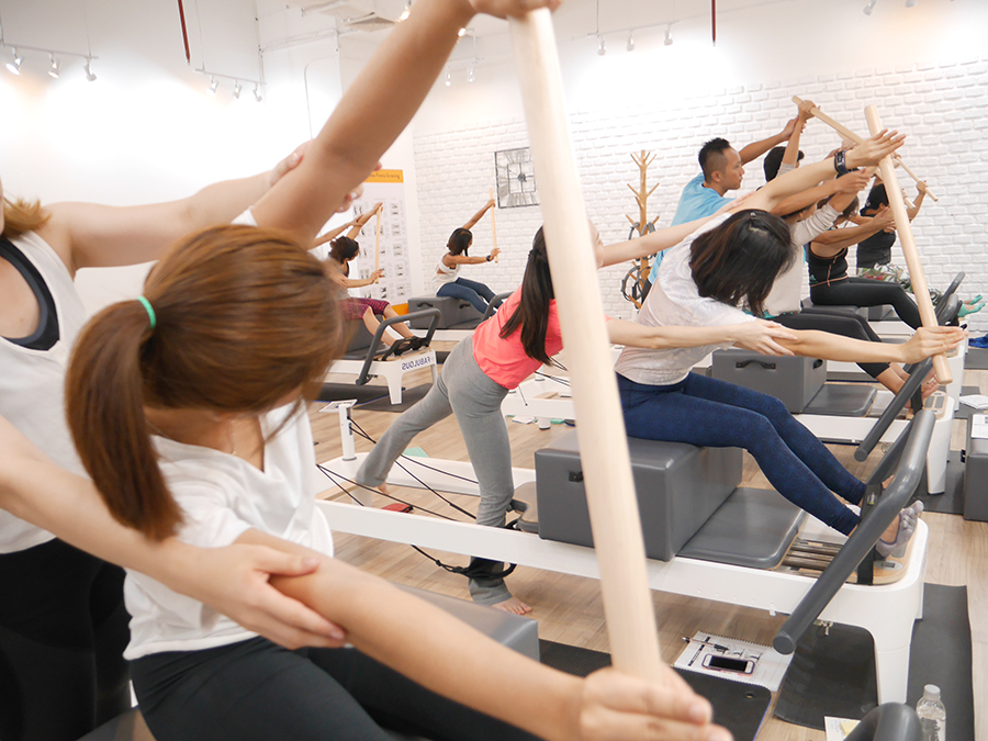 Polestar Pilates Instructor training Bangkok 32
