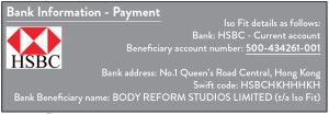 polates pilates The balance studio payment