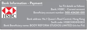 polates pilates The balance studio payment