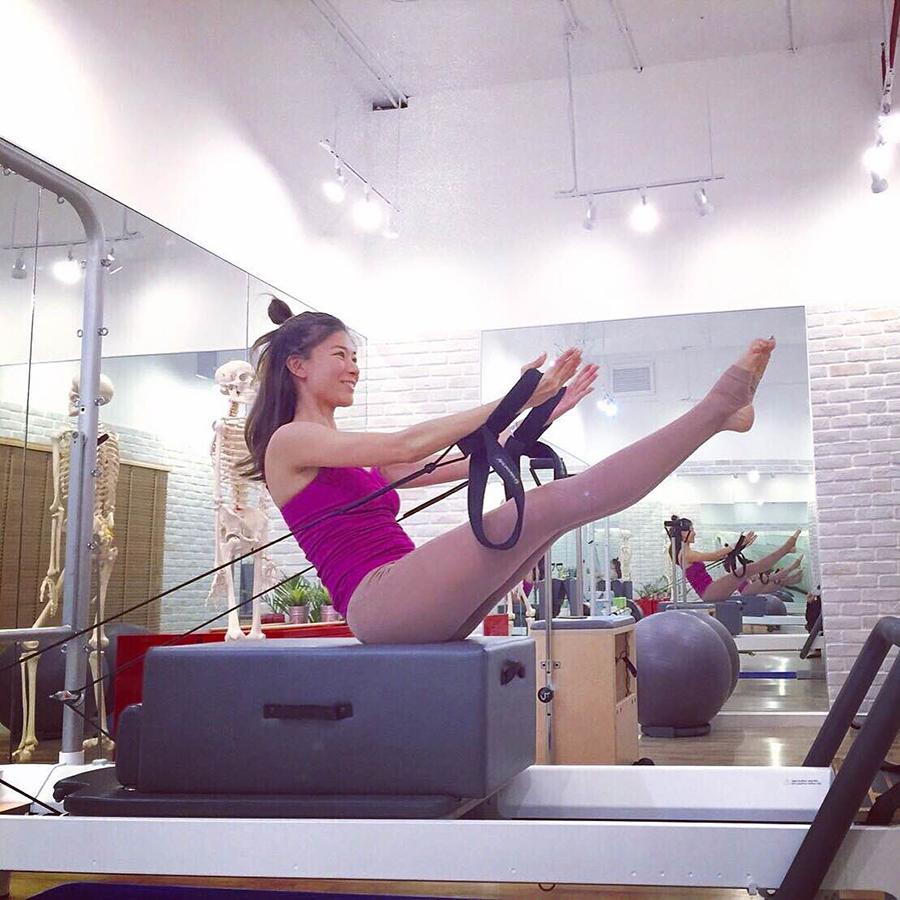 เรียนพิลาทิสแบบตัวต่อตัว Pilates Private Class 40