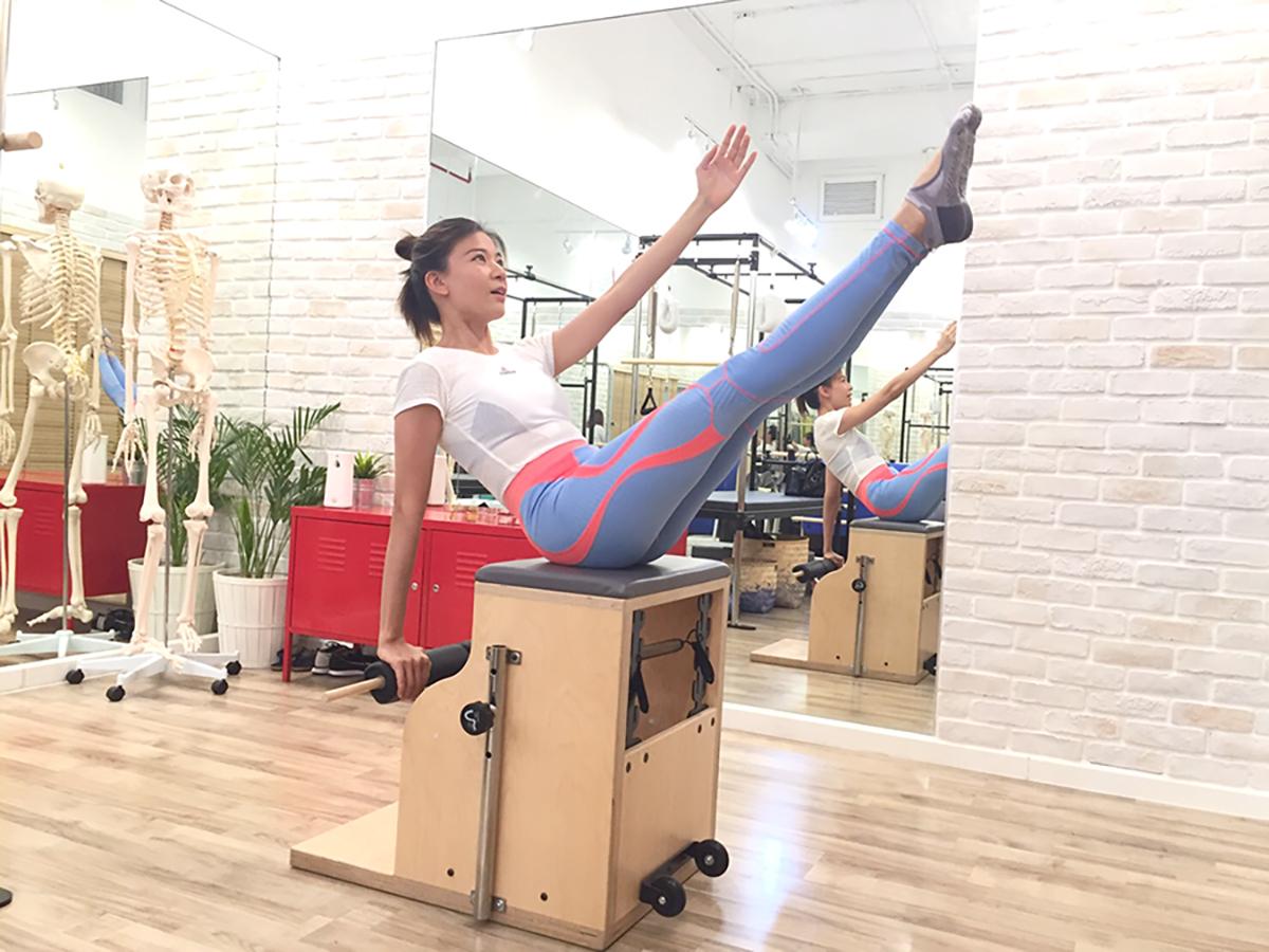 เรียนพิลาทิสแบบตัวต่อตัว Pilates Private Class 2