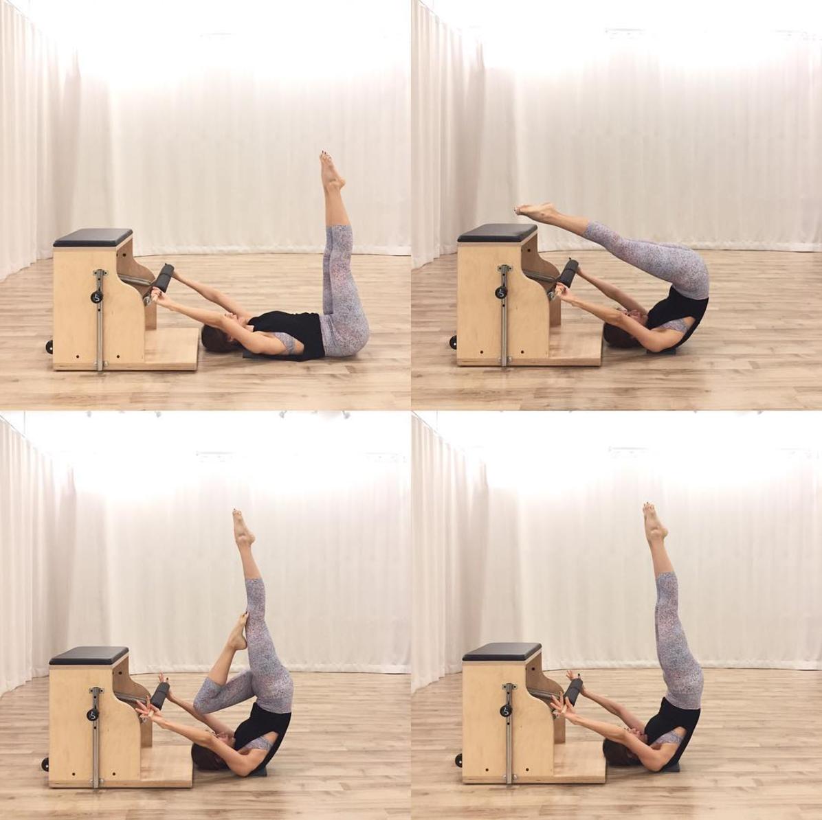 Pilates Combo Pilates Chair Pre Built: The Balance Studio - T.081 6600 864