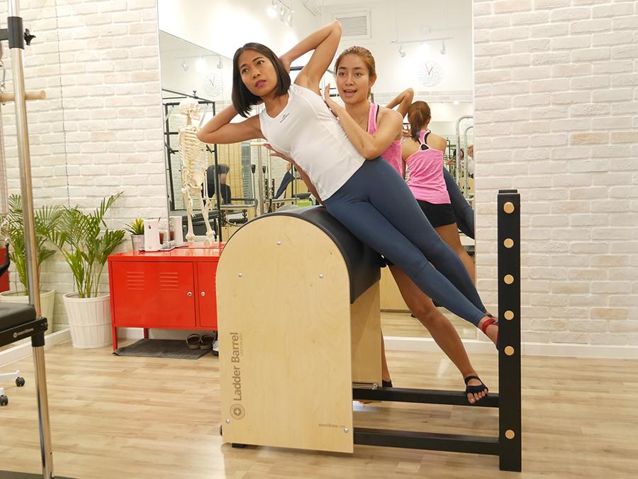 Pilates Private Class Bangkok at The Balance 50