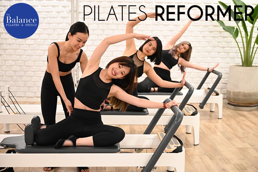 pilates reformer group class เรียนพิลาทิสแบบกรุ๊ปคลาส